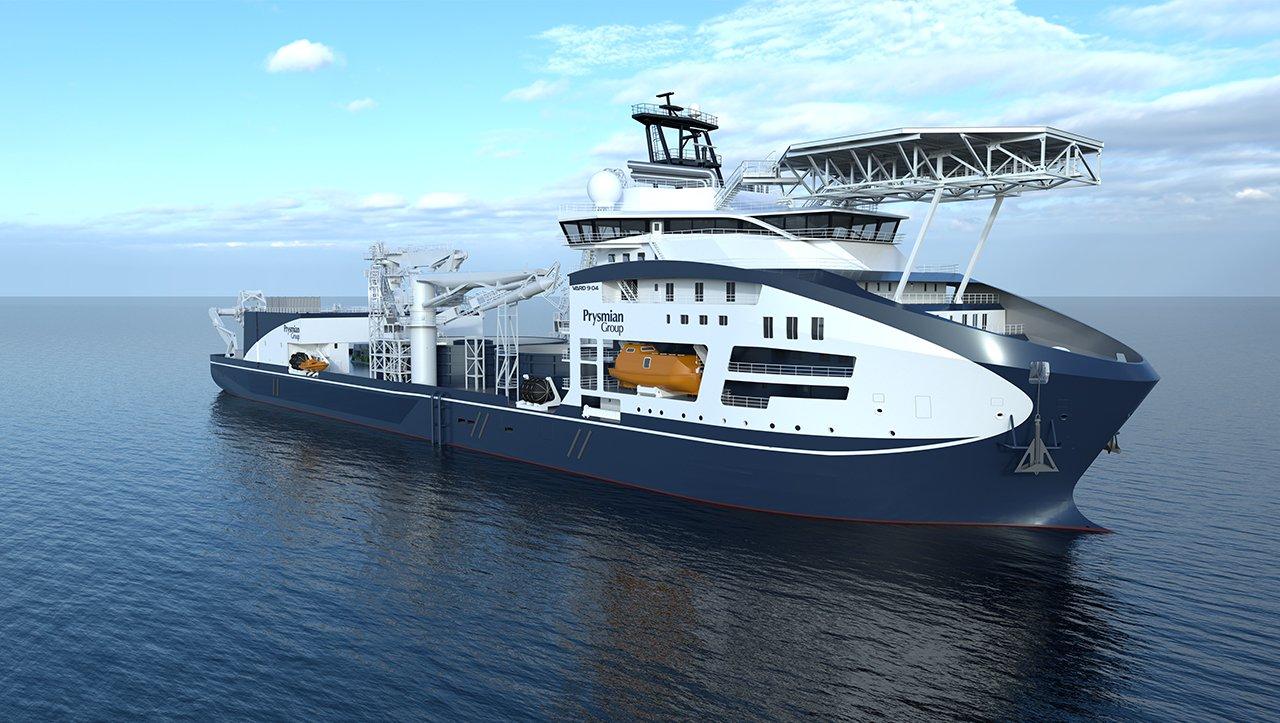 """Prysmian Group prezintă cea mai avansată navă de instalare a cablurilor """"Leonardo da Vinci"""""""