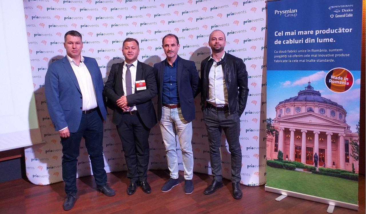 Prysmian Group la conferința PRIA - Fire Safety of Buildings