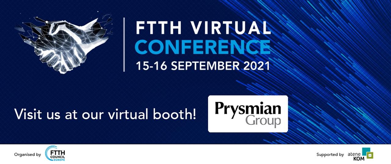 Prysmian Group la Conferința FTTH - Fibre To The Home 2021