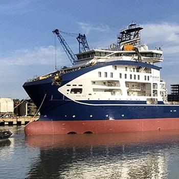 Prysmian la timp cu construcția navei Leonardo da Vinci: carena finalizată și lansată la apă