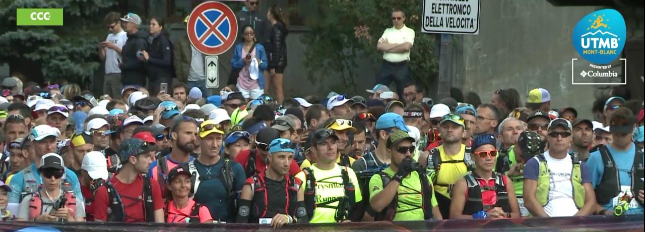 Cristi Cârstea - Ultra Trail du Mont Blanc 2019